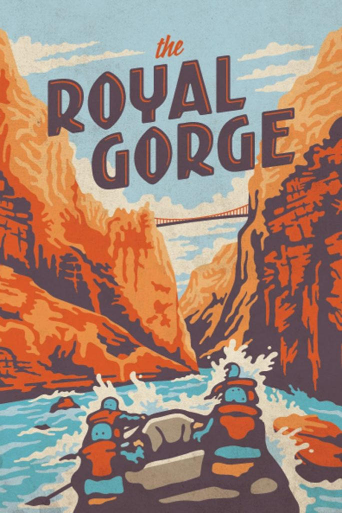 Rafting Royal Gorge with Echo Canyon River Expeditions